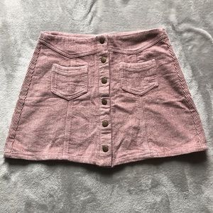 Dresses & Skirts - Corduroy mauve skirt!
